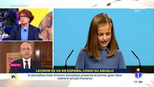 La reacción del guionista despedido por el rótulo sobre la princesa Leonor en TVE