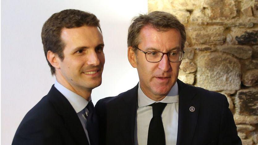 Feijóo sale en defensa del Gobierno de Rajoy tras el desmarque de Casado sobre el 1-O