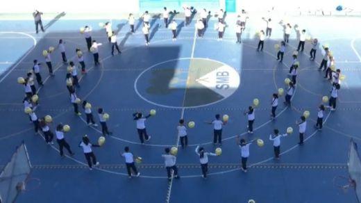 El Colegio Santa María del Bosque se solidariza con los niños enfermos de cáncer