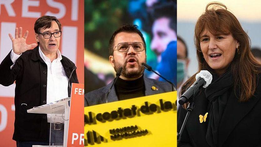Sondeos previos a los resultados oficiales: ERC ganaría las elecciones, el PSC segundo y Vox supera al PP
