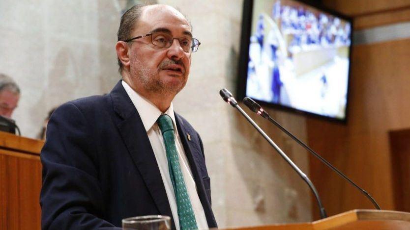 Lambán anuncia que padece cáncer de colon pero seguirá al frente del Gobierno de Aragón