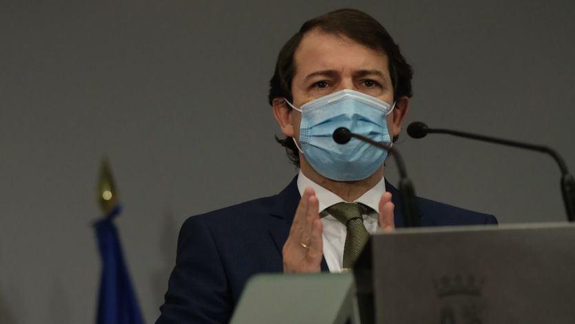 El presidente de la Junta, Alfonso Fernández Mañueco