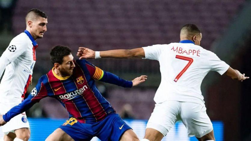 Mbappé pasa por encima de Messi y hace soñar al madridismo (1-4)