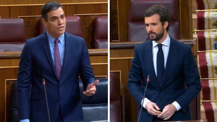 Casado reclama a Sánchez que saque a Podemos del Gobierno: 'Es el camarote de los hermanos Marx'