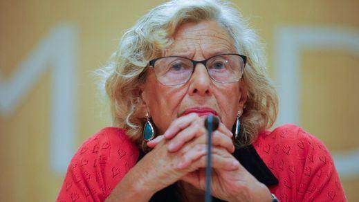 Gran debate en redes por las acusaciones a Carmena con las obras de Plaza de España