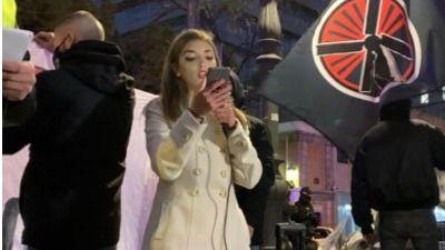 Isabel Peralta, la joven falangista que clamó que