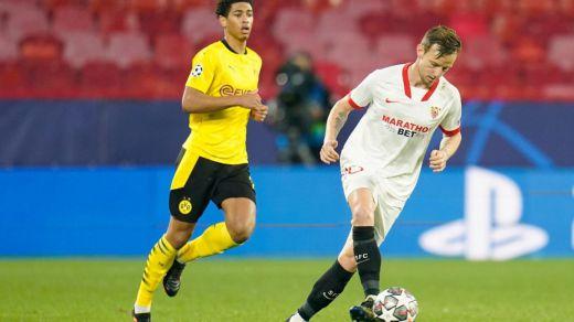 El Sevilla cae 2-3 ante el Dortmund de Haaland pero intentará la remontada en Alemania