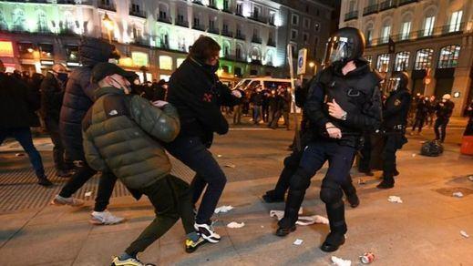 Los disturbios para protestar por el arresto de Pablo Hasel llegan a Madrid