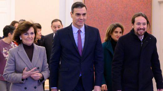 Calvo abronca a Podemos por su postura en las protestas por Pablo Hasel y las políticas de Igualdad