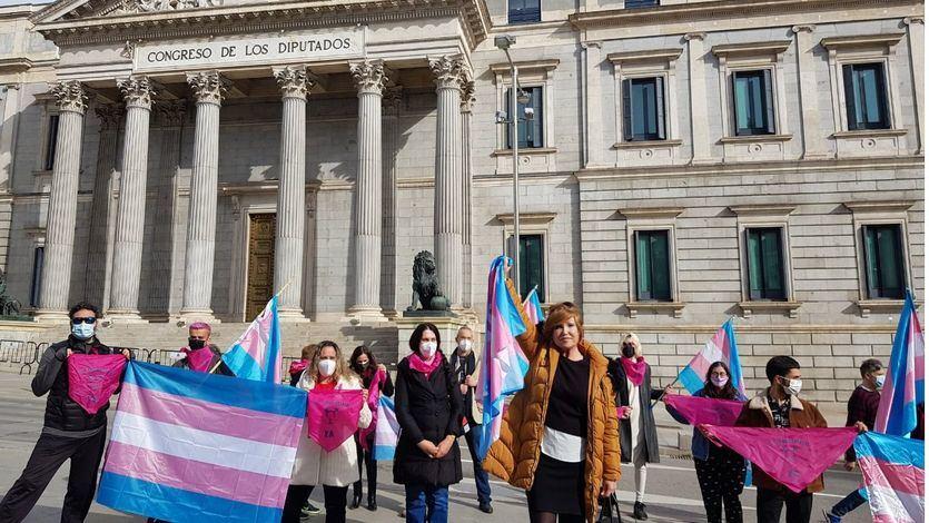 Los colectivos trans iniciarán una huelga de hambre si no se registra la 'ley trans' en el Congreso