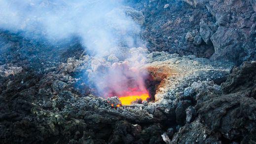 La última erupción del Etna deja imágenes sorprendentes