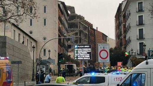 No hay caso: un juzgado archiva la investigación de la explosión del edificio de la Iglesia en la calle Toledo de Madrid