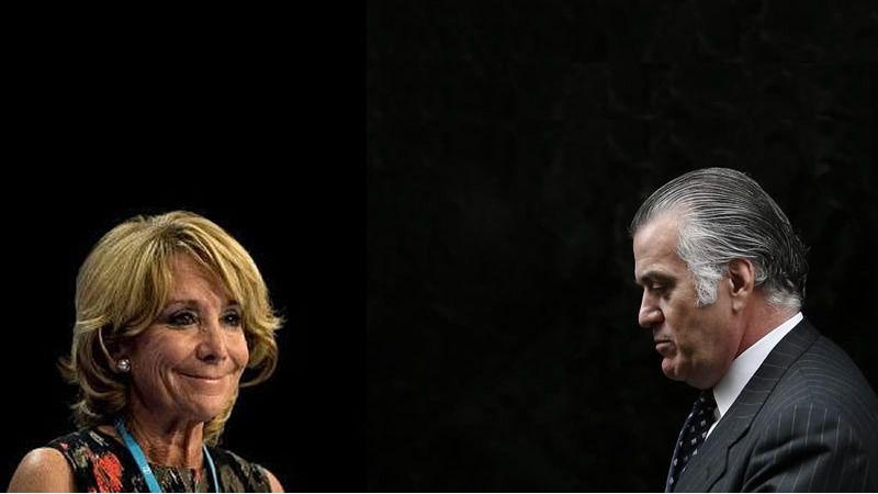 Aguirre se defiende tras las acusaciones de Bárcenas: 'Es rotundamente falso'