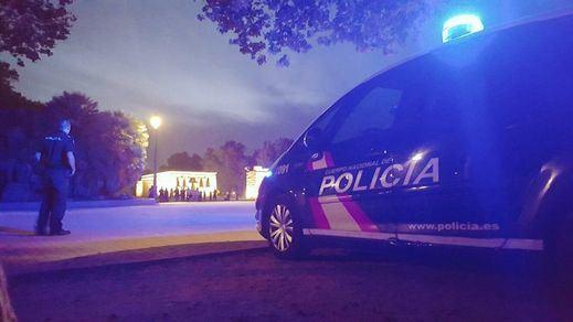 La Policía desaloja una fiesta ilegal en un bar de Jaén con 82 personas