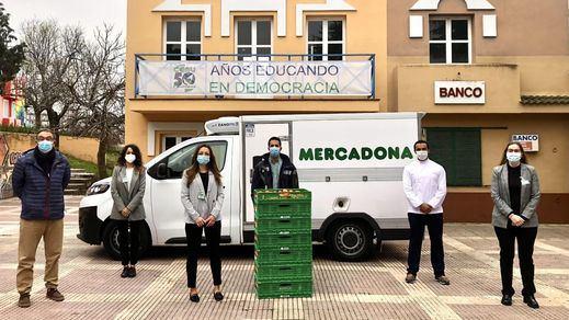 Mercadona donará diariamente alimentos a la ciudad escuela 'Muchachos' de Leganés