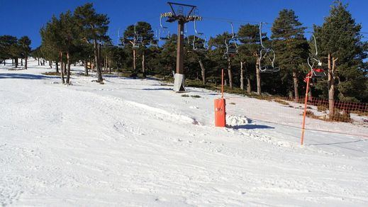 Adiós a la estación de esquí del Puerto de Navacerrada