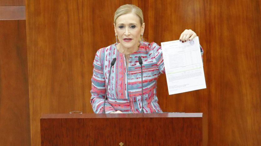 La Fiscalía recurre la absolución de Cristina Cifuentes en el 'caso máster'