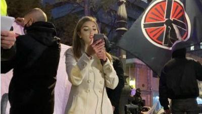 La Policía atribuye un delito de odio a la falangista Isabel Peralta