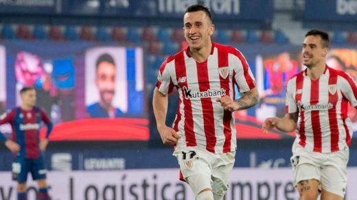 El Athletic se suma a otra final copera tras superar al Levante en la prórroga (1-2)