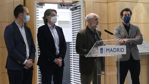 Los 4 ediles: Marta Higueras, José Manuel Calvo, Luis Cueto y Felipe Llamas