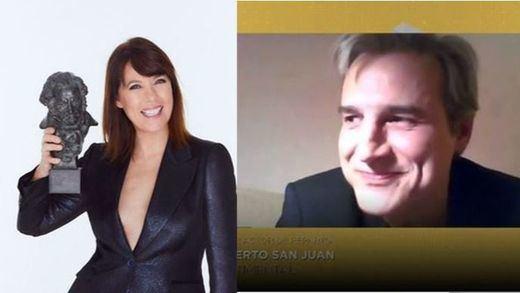 Los aplaudidos discursos de Mabel Lozano y Alberto San Juan en la gala de los Goya