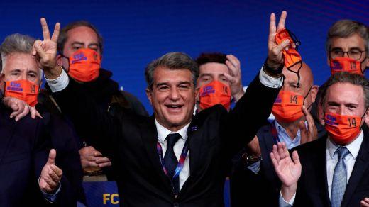 Laporta arrasa en las elecciones del Barça: ¿segundas partes serán buenas?