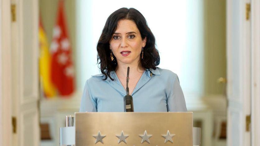 Ayuso acusa a Cs de estar negociando una moción de censura con el PSOE