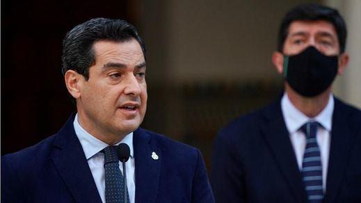 PP y Cs escenifican su complicidad en Andalucía: