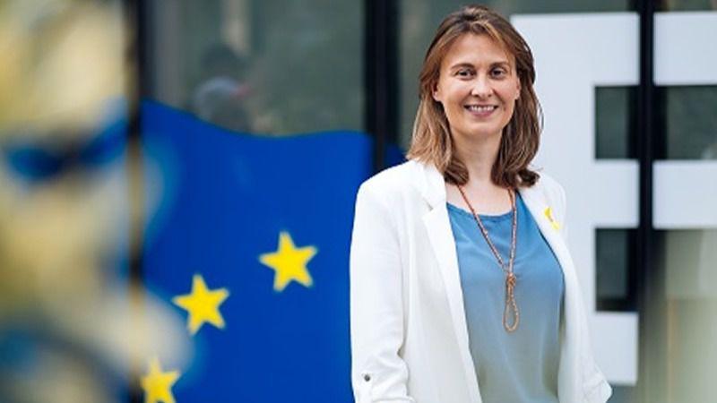 La ex consellera catalana Meritxell Serret se entrega voluntariamente en el Tribunal Supremo