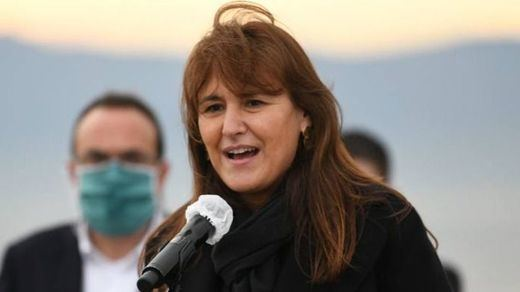 El Parlament catalán elige a Laura Borràs de Junts como nueva presidenta