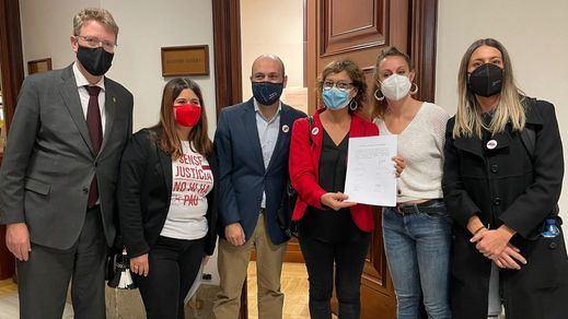 Los partidos independentistas catalanes registran la Ley de Amnistía en el Congreso