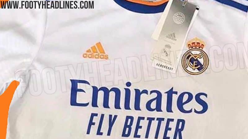 La camiseta del Real Madrid 2021-22 podría tener detalles naranjas y azules