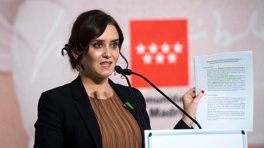Ayuso anuncia ayudas de hasta 200.000 euros a las empresas que queden excluidas por el Gobierno central