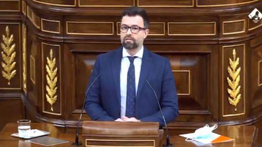 El diputado Pablo Cambronero se va al Grupo Mixto y Ciudadanos se queda con 9 escaños
