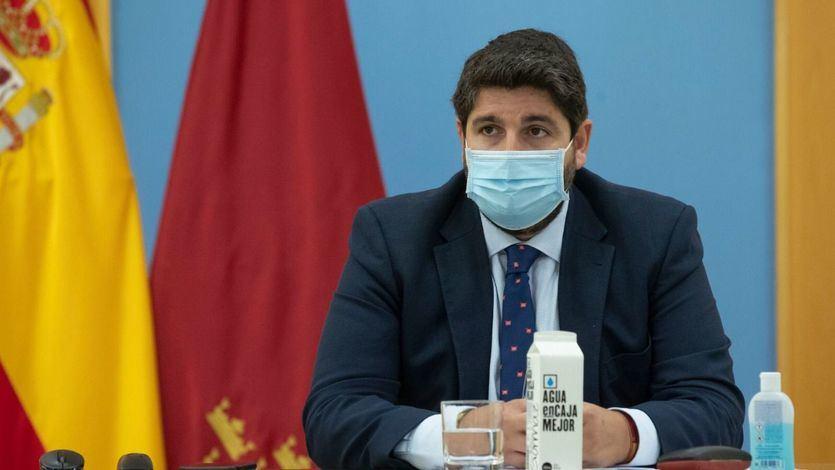 Fracasa gracias a Vox la moción de censura de Murcia contra López Miras que inició un terremoto político