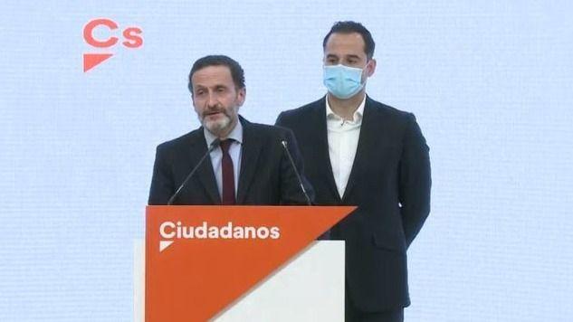La enésima sorpresa con Ciudadanos: Aguado no será el candidato en Madrid y deja el testigo a Edmundo Bal