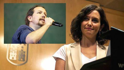 Más encuestas de Madrid: Ayuso tendrá que gobernar con Vox y Cs y Pablo Iglesias no supera a Errejón