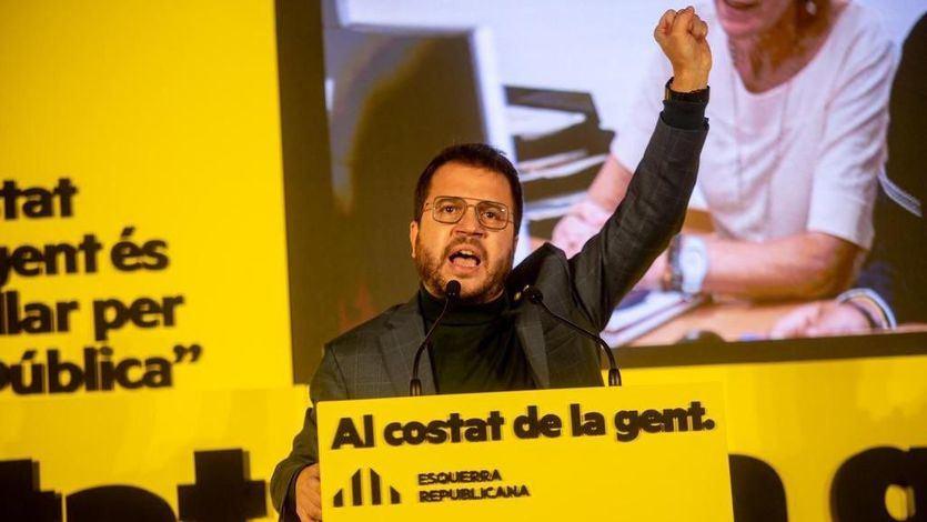 Esquerra basa el acuerdo de investidura de Aragonès en la CUP y deja de lado a Junts