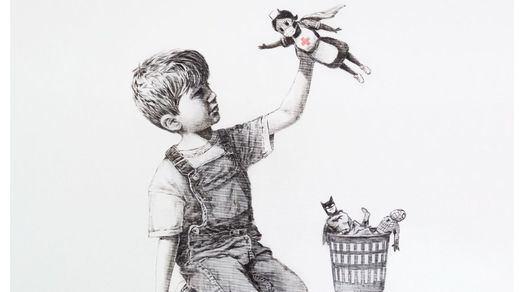 Subasta de récord para Banksy: 19,4 millones por su última obra