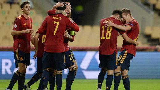 España debuta con Grecia en la clasificación al Mundial 2022: horario y dónde verlo
