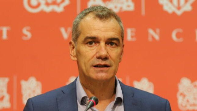 Toni Cantó confirma su paso al PP: 'Agradezco a Ayuso y Casado públicamente que pueda entrar en sus listas como independiente'