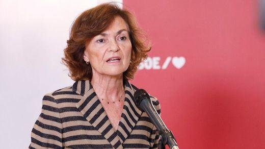 Calvo niega los rumores sobre un adelanto electoral y recuerda que España presidirá la UE este año