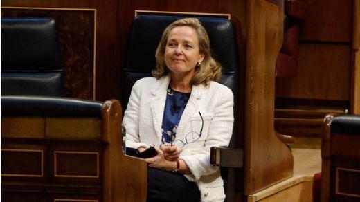 El 'dardo' de Calviño a Iglesias por su salida del Gobierno