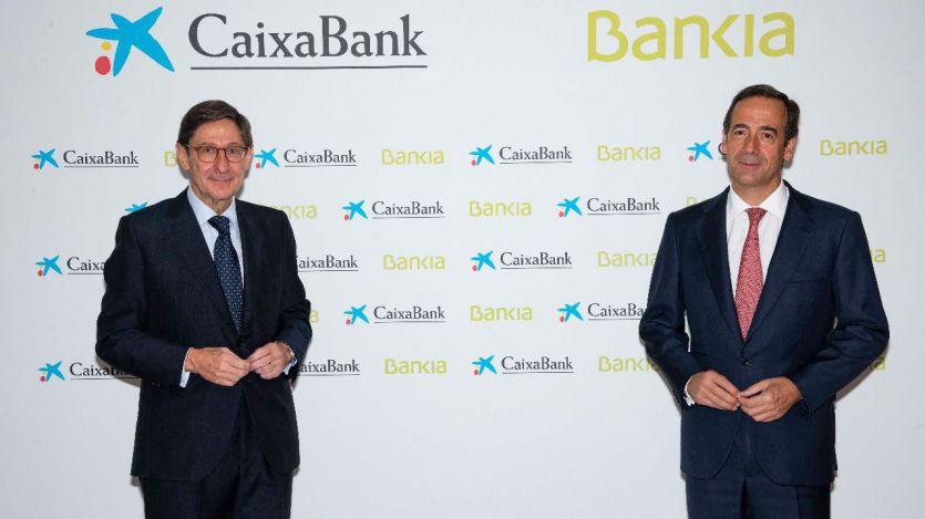 CaixaBank culmina los trámites legales de la fusión con Bankia para convertirse en el banco líder en España