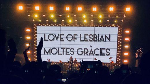 Love of Lesbian y el primer gran concierto sin distancia social de la pandemia