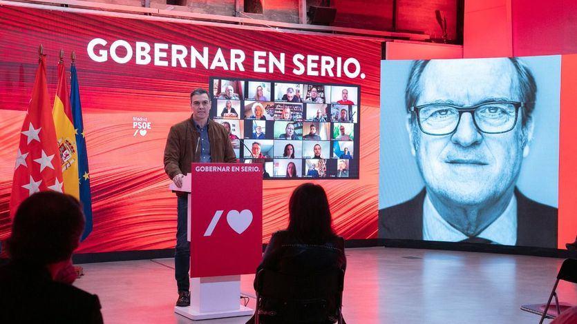 Sánchez llama a la movilización el 4-M para evitar que el PP y Vox 'formen el gobierno de la plaza de Colón'