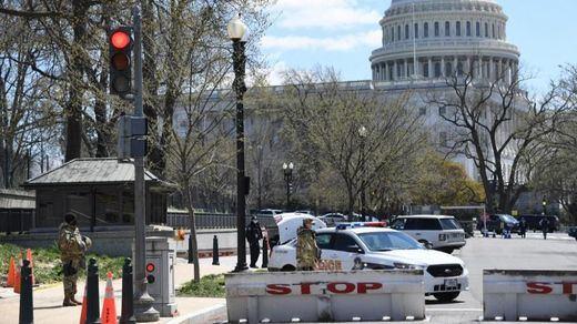 El ataque al Capitolio con coche acaba con un policía muerto y otro herido