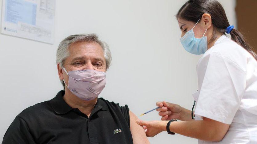 El presidente de Argentina, Alberto Fernández, enfermo con covid pese a recibir la vacuna rusa