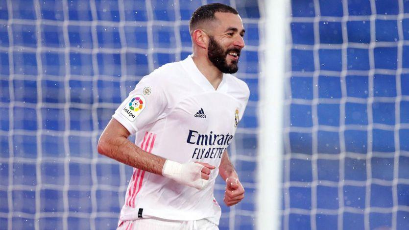 Ni la tormenta ni un flojo Eibar paran a un Real Madrid que acosa a Atleti y Barça (2-0)
