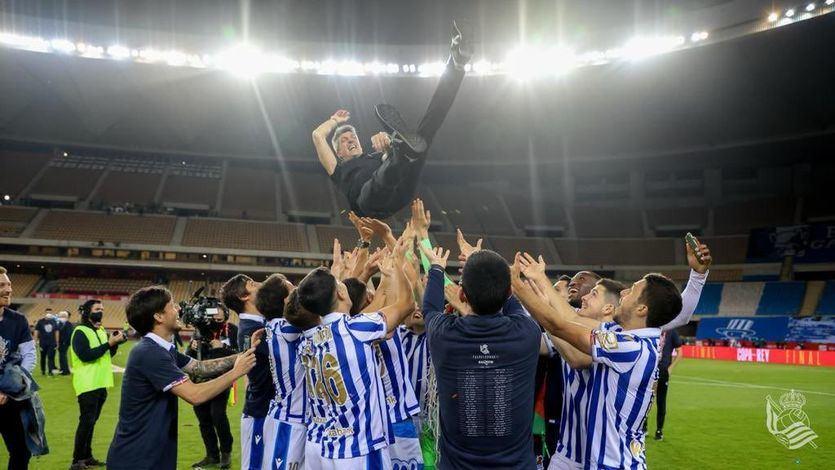 La Real Sociedad gana la Copa del Rey 34 años después de la última